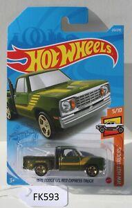Hot wheels 1978 Dodge Li'L Red Express Truck 5/10 Normal TH FNQHotwheels FK593