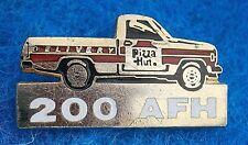 AR570*) Vintage Collectable enamel 200 AFH pizza truck Van car badge lapel pin