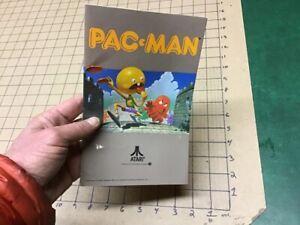 Original 1982 PAC-MAN atari instructions