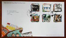 Los Beatles Royal Mail Sellos Oficiales Primer Día Cubierta de 2007-Matasellos Liverpool