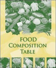 NEW - Food Composition Table (Mosby Nutrition) by McGraw-Hill Education