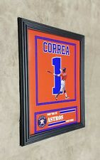 Houston Astros Carlos Correa Framed 8x10 Jersey Photo