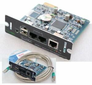 APC SCHNEIDER AP9631 NETZWERKKARTE NETWORK MANAGEMENT CARD USB CD MANUAL SOFT 81