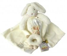 Bunnies By the Bay Baby Gift, Soft Comforter, Rattle, Baby Shower Gift,  Unisex