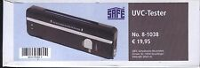 SAFE 8- 1038 Uvc-Tester New
