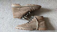 Vintage 70s Ashwood size UK 7.5 EU41 tan suede lace up desert ankle safari boots