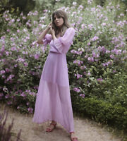 H&M CONSCIOUS LYOCELL BLEND DRESS SIZE 10 LILAC BLOGGERS FAVOURITE SOLD OUT