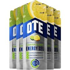 Ote Energy Gel 20 x 56g (lemon & Lime) - Cycling Training Exercise Workout