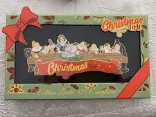 Pin Jumbo Snow White Blanche-Neige Christmas Event Limited Disneyland Paris