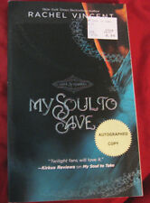 My Soul To Save by Rachel Vincent – Softcover (NEW) – Autographed