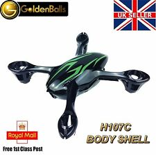 Hubsan X4 H107C Body Shell - Genuine Spare Part for Quadcopter Drone UK Black