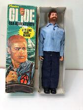 1970 GI JOE AT ADVENTURE TEAM SEA ADVENTURER RED HAIR IN BOX #7402 HASBRO