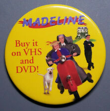 Madeline - Buy it on VHS and DVD! Pin Back Button