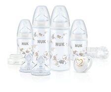 NUK Perfect Start Plus Set Erstausstattung für Baby Babyflaschen 0-6M NEU
