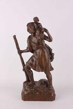 El santo Christophorus madera personaje