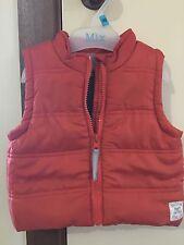 Pumpkin Patch Boy's Padded Vest Size 3-6m