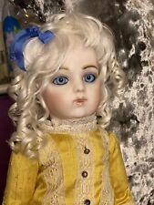 Antique Vintage Bru Jne 13 Repro Doll
