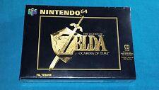 Zelda Ocarina Of Time Nuevo y Precintado - New and Sealed Pal España Nintendo 64