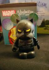 "Disney Vinylmation 3"" Park Set 1 Marvel Avengers Black Panther with Box"