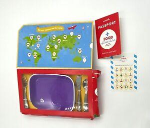 Munchkin Food Adventure Splash Toddler Dining Gift Set, Includes Plate/utensils