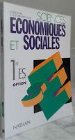 2003 Sciences Economia Sociali Nathan Parigi IN4 Illustre Tbe