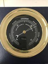 Chelsea Clock Holosteric 4 1/2� Black Flag Barometer