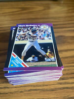 (100) 1989 Donruss Mark McGwire #7 Oakland Athletics NR-MT+ Recent Set Breaks