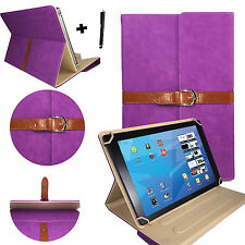 10.1 zoll Tablet Tasche Hülle Case Etui - Fujitsu Stylistic Q550 - stylisch Lila