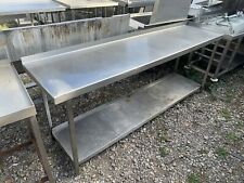 More details for stainless steel commercial prep table (2.3m)