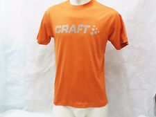 CRAFT Damen Funkionsshirt Laufshirt Größe M Orange Kurzarm