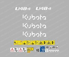 KUBOTA u48-4 Mini Escavatore decalcomania Set