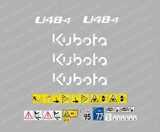 Kubota U48-4 Ensemble Complet Autocollant Mini Pelle