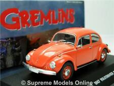 GREMLINS 1967 VOLKSWAGEN BEETLE MODEL CAR 1:43 SCALE GREENLIGHT 80'S FILM R01