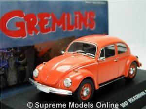 GREMLINS 1967 VOLKSWAGEN BEETLE MODEL CAR 1:43 SCALE GREENLIGHT 80'S FILM R01