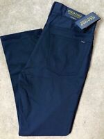 "RALPH LAUREN POLO NAVY BILTMORE GOLF TAILORED TROUSERS PANTS  30"" W x 30"" L NEW"