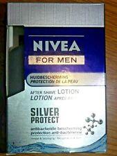 NIVEA FOR MEN Lotion Après-rasage SILVER PROTECT anti-bactérien After shave HOMM