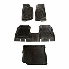 Rugged Ridge Floor Liner Set for 2018-19 Jeep Wrangler Unlimited JLU 12988.05