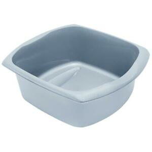 Addis 9.5L Washing Up Bowl Basin Rectangular with Handles, 100% Recycled Plastic