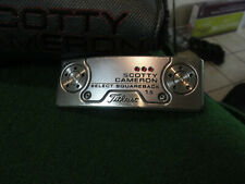 "2018 scotty cameron titleist select squareback 1.5  35"" putter  w scotty cover"