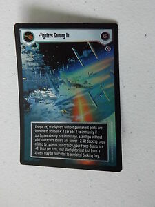 Star Wars CCG - Reflections II -  DS FOIL - Fighters Coming In