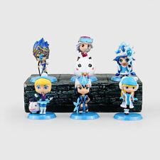 LOL League of Legends 32 Generation 6pcs Champion Syndra Sejuani Figure Figurine