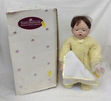 Ashton Drake Galleries Doll 'Mommy I'm Sleepy' Porcelain Face Hands Feet #624