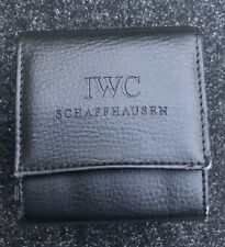 Original IWC Deluxe Padded leather Watch Travel Carry Storage Service Case