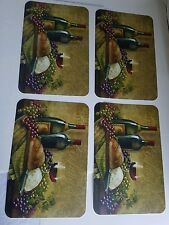 "Kitchen Dinner Placemat Set ( Thomas Wood 17"" L x 11"" W Dining Home Art)"