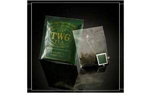 TWG Tea from Singapore - WATERFRUIT GREEN TEA - 100 SILK Tea Bags BULK CARD BOX