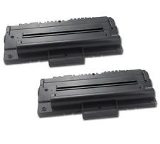 2pk Black Laser Toner Cartridge for Samsung ML-1710D3 ML1710 ML-1740 ML-1750