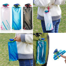 700ML Portable Outdoor Sports Travel Camping Foldable Collapsible Water Bottle