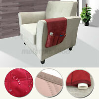 Armchair Sofa Arm Rest Storage Holder Remote Control Phone Organizer Couc