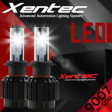 XENTEC LED HID Headlight kit 9007 HB5 White 1999-2004 Ford F-250 Super Duty