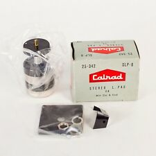 Vintage Calrad Stereo Dual 8 ohm Potentiometer, L. Pad Slp-8 With Knob and Dial